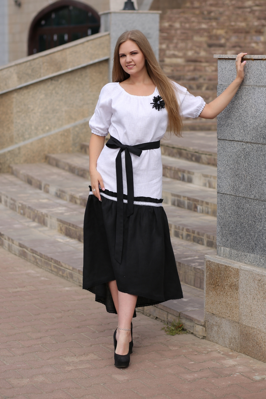 b2fa0b223d7 Купить Платье 0115 из льна
