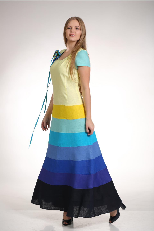 a90fd554735 Купить Платье 012 из льна